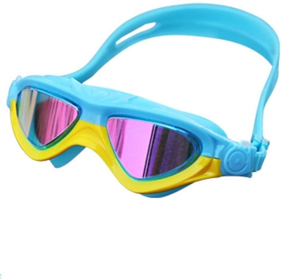 ZQ Children's Swimming Goggles Unisex Anti-Fog Diving Swimming Glasses Silicone Sealed Goggles 2 Pieces
