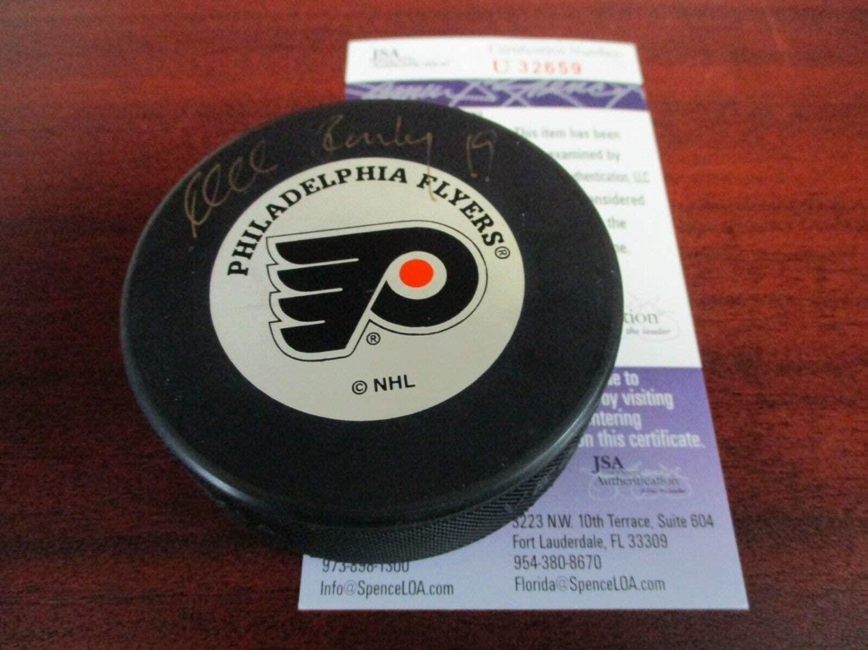 Mikael Renberg Autographed Signed 19 JSA Authentic Philadelphia Flyers Hockey Puck !!