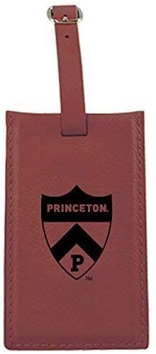 LXG, Inc. Princeton University -Leatherette Luggage Tag-Burgundy