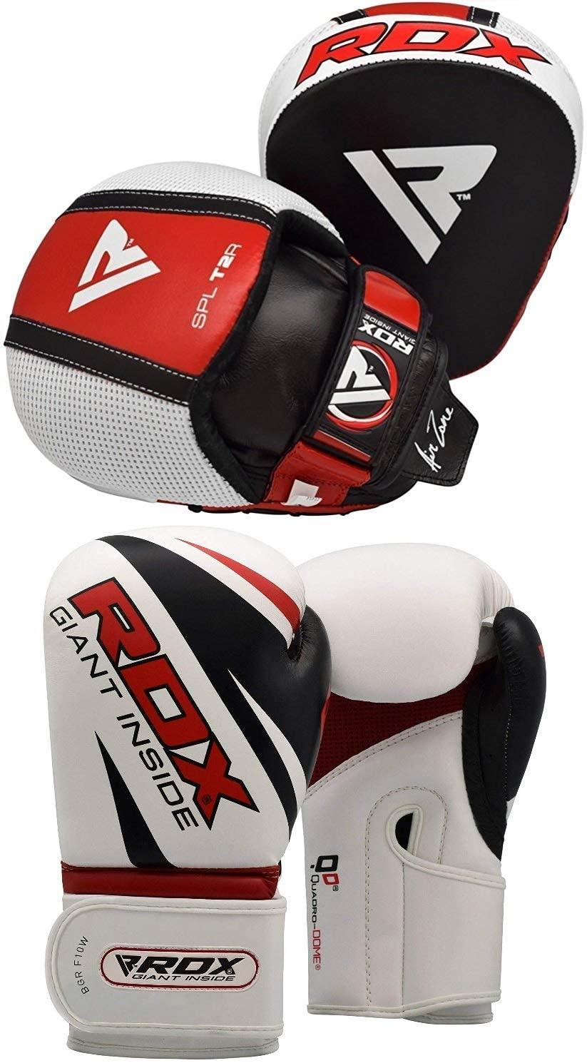 RDX Smartie Pads MMA Boxing Gloves Punch Target Focus Training Punching Hook & Jab Thai Strike Kick Shield