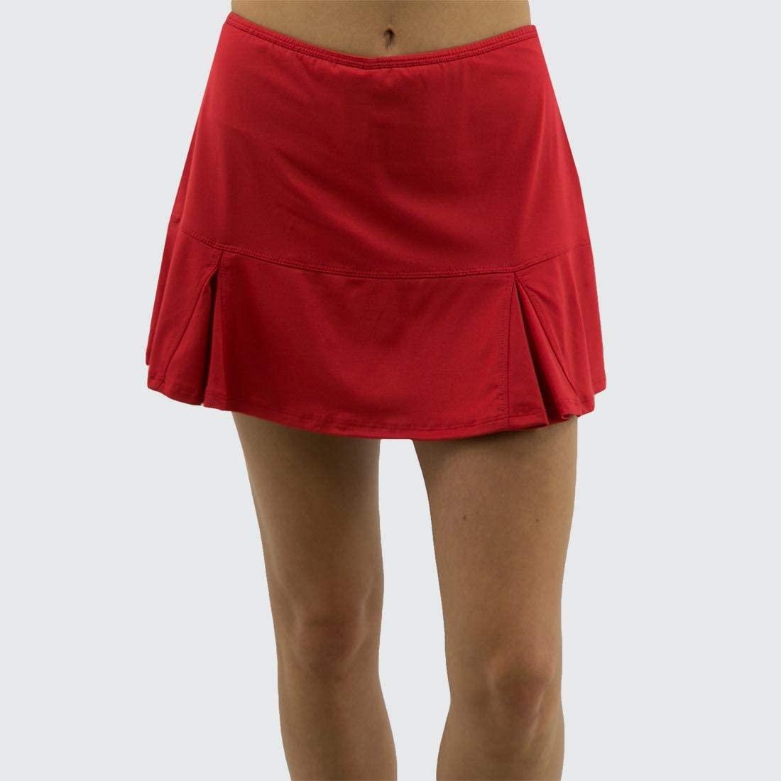 Bolle Essentials Flounce Skirt - Red