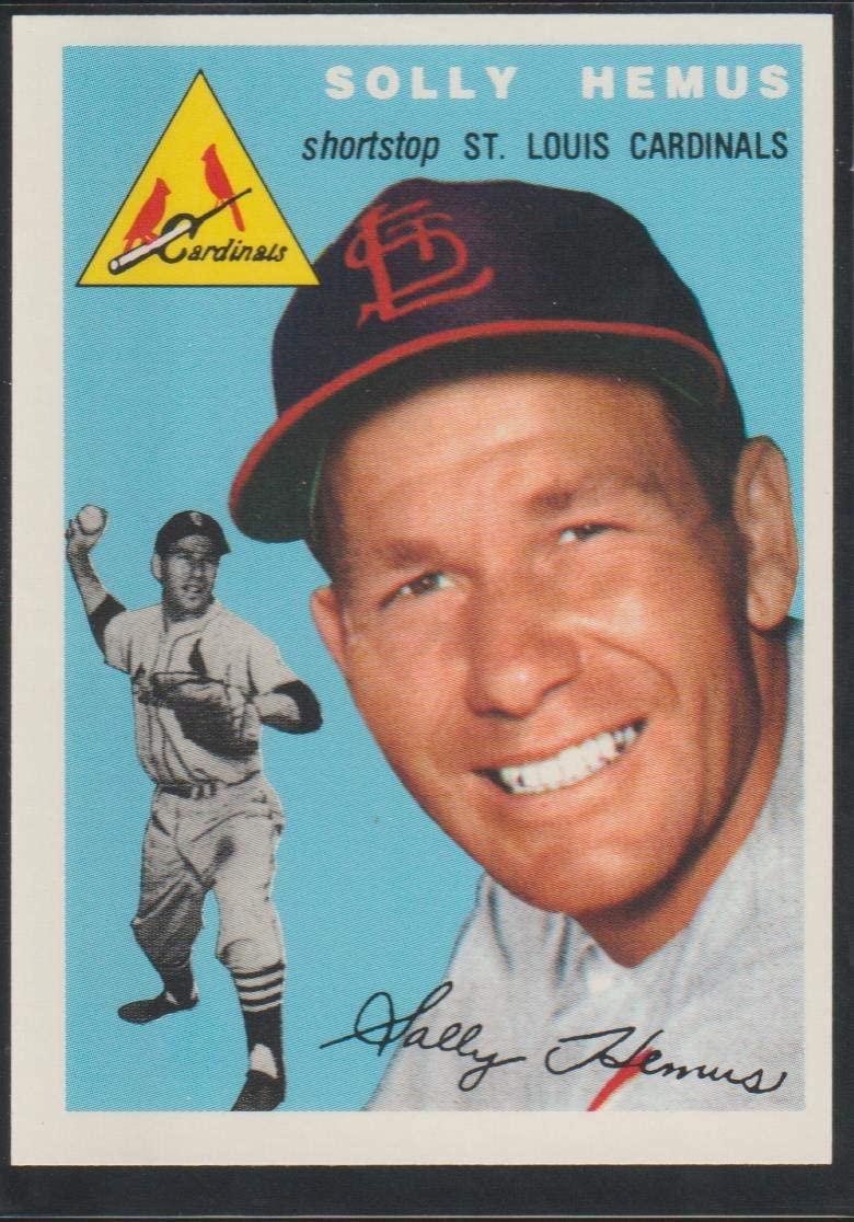 1993 Topps Solomon Hemus Cardinals 1954 Reprint Baseball Card #117