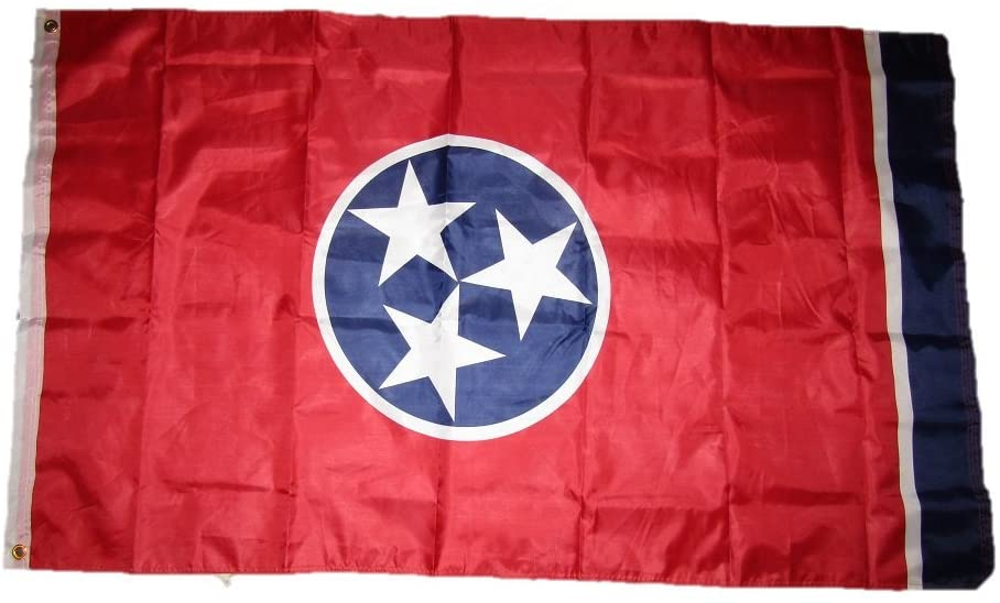 3x5 State of Tennessee Double Sided 3ply w/ Liner Flag 3'x5' Brass Grommets