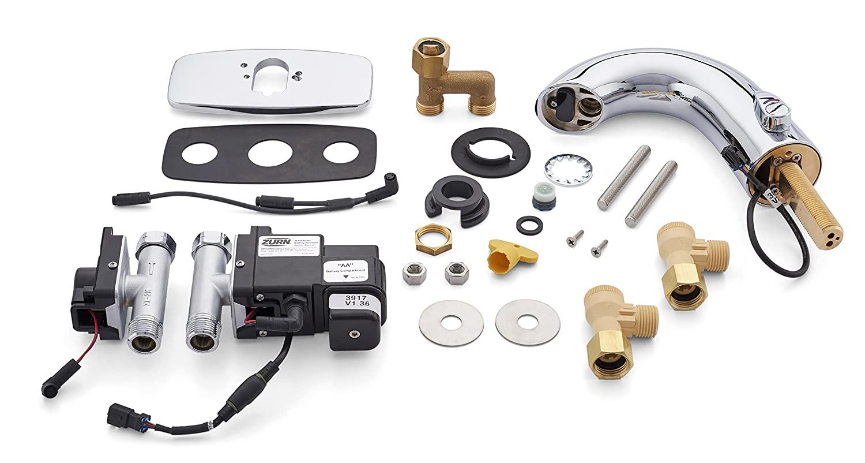 Zurn Z6950-XL-IM-S-CP4-E Aquasense Single Post Mixing Aqua-Fit Battery Sensor Faucet with 4