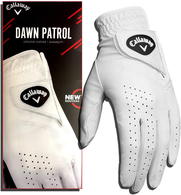 Callaway Golf Men's Dawn Patrol 100% Premium Leather Golf Glove