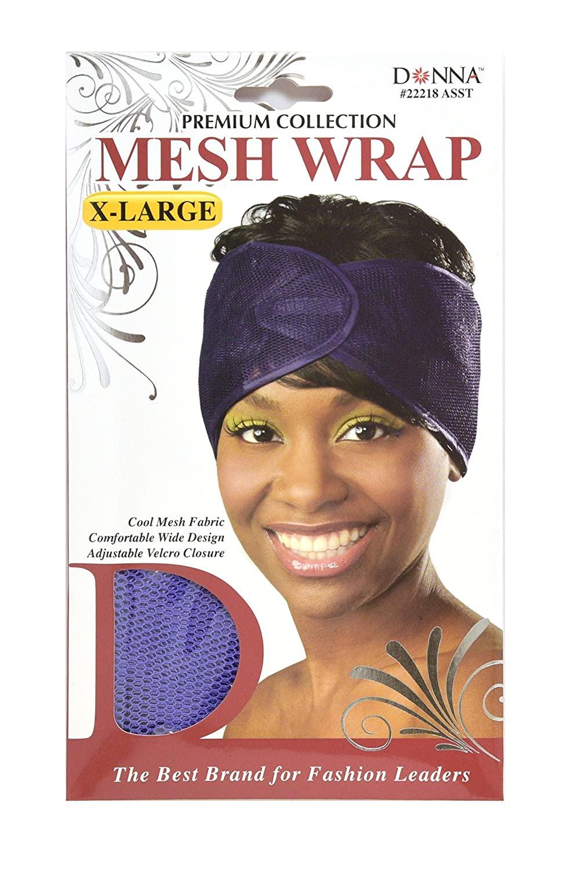 Donna Premium Collection X-Large Mesh Wrap (Purple)