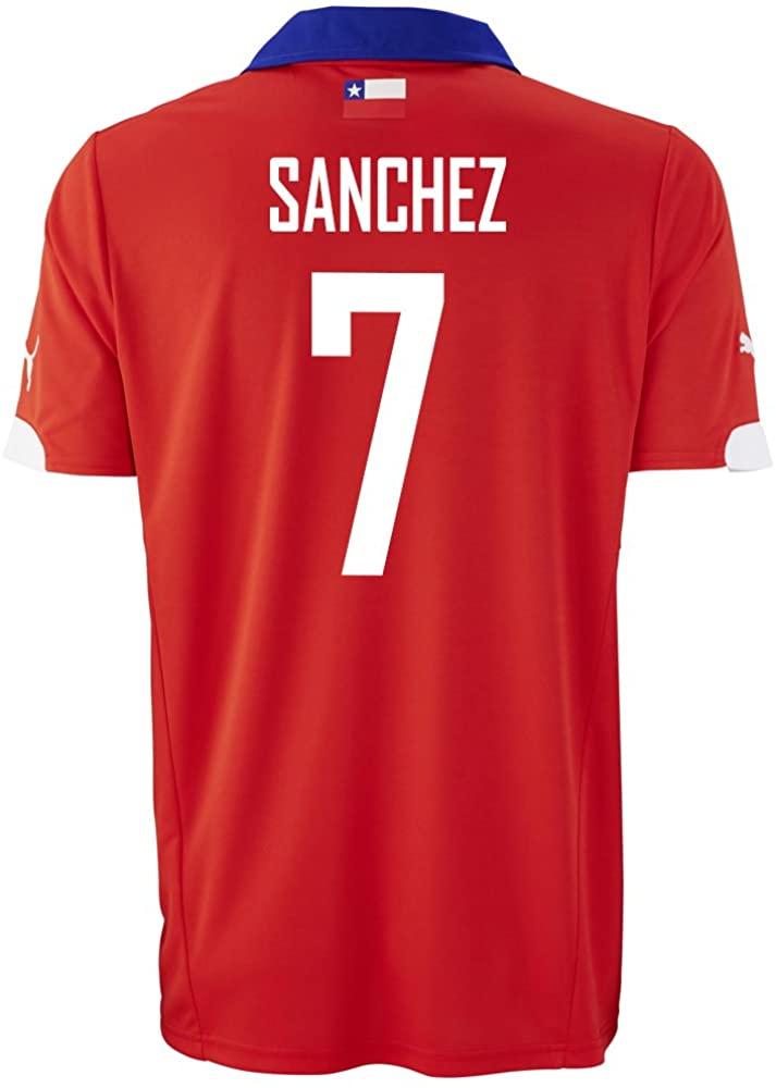 PUMA Sanchez #7 Chile Home Jersey