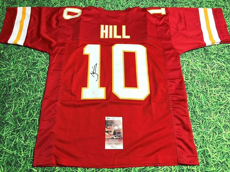 Tyreek Hill Signed Jersey - JSA Certified - Autographed NFL Jerseys