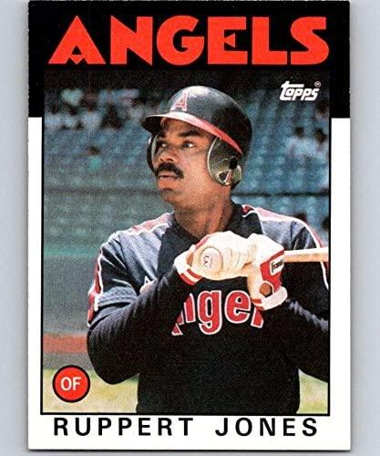 1986 Topps #464 Ruppert Jones Angels MLB Baseball