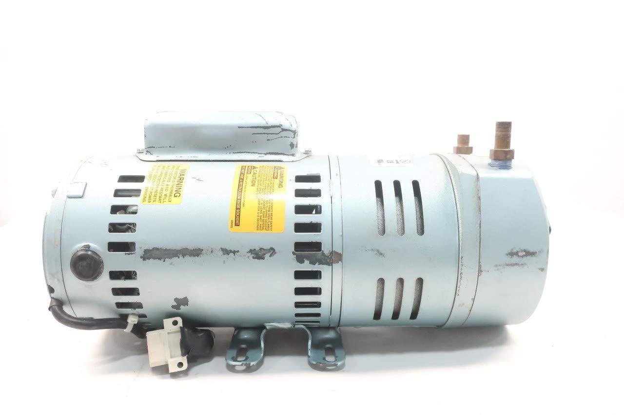 GAST 1423-101Q-G626X Rotary Vane Vacuum Pump 1HP 110-115/208-230V-AC