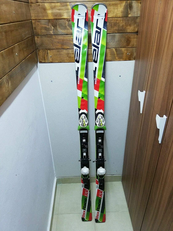 Skis Elan Race GSX Elan ELX Bindings (170, ELX 14)
