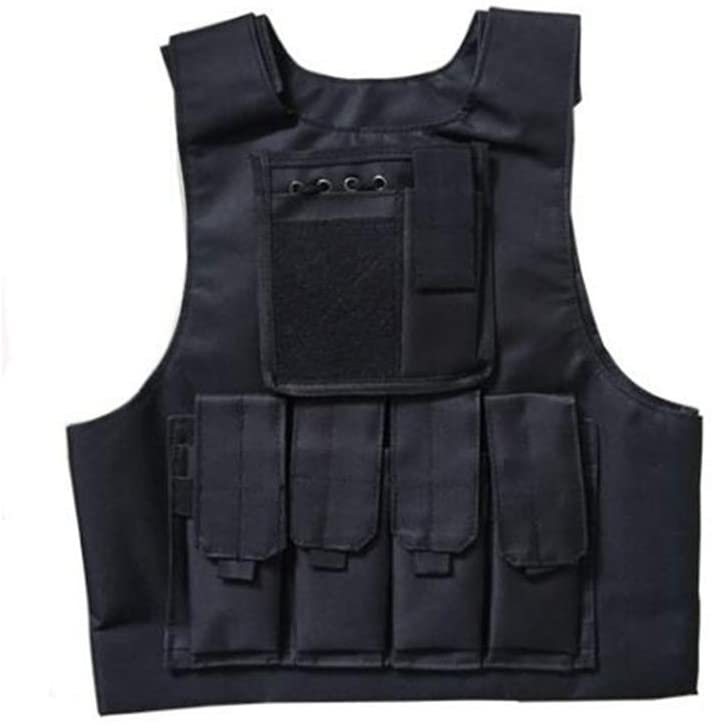 FIRECLUB Children Convenient Tactical Vest CS Game Cosplay Training for Boys Girls
