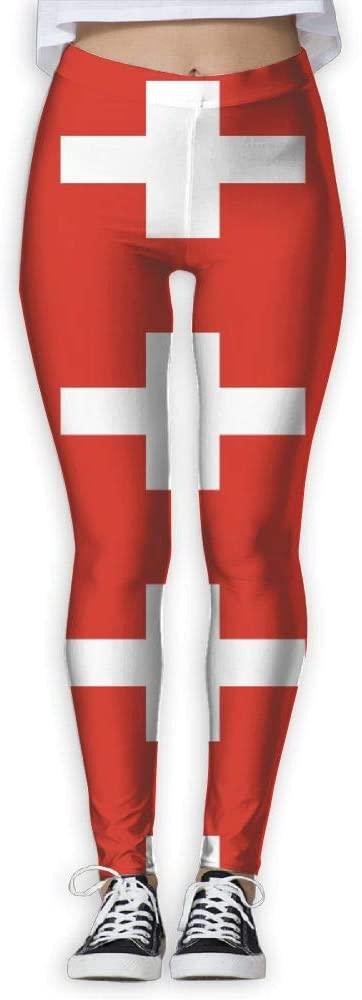 XY-Z Womens Yoga Leggings Jamaica Flag Skinny Workout Pants Sweatpants