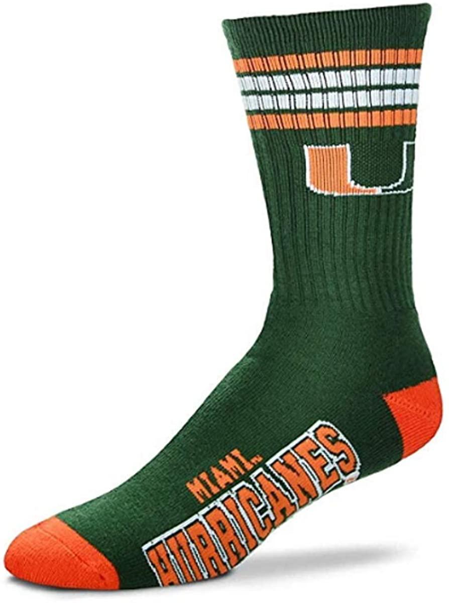 FBF Miami Hurricanes Socks
