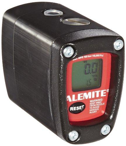 Alemite 3530 Grease Meter, 10,000 psi Max Operating Pressure, 3.2 oz./min - 88 oz./max Flow, 1/8