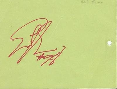 Eric Swann Signed 1993 Fiesta Bowl Parade Committee Ticket Cardinals