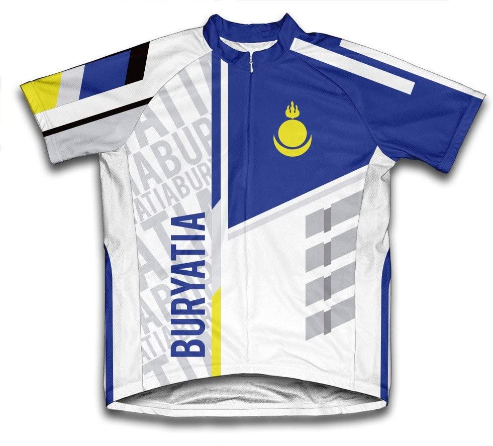 ScudoPro Buryatia Short Sleeve Cycling Jersey for Men