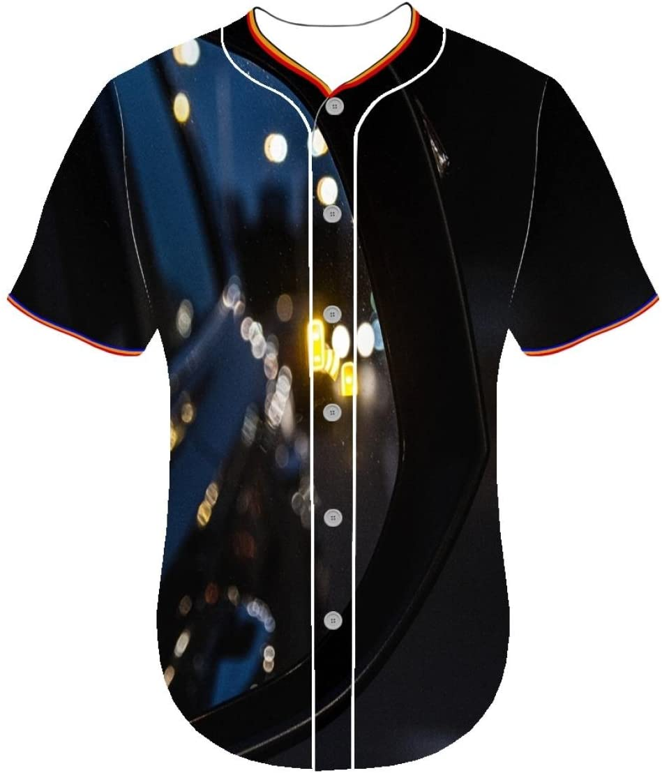 3D Printer Customized jerseys Universe ffuc Clothing Baseball Jerseys 3d printed long sleeve shirts for men Round Collar Fouasi Mens