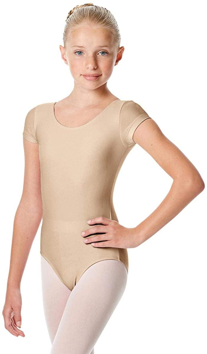 Calla Dancewear Girls Short Sleeve Leotard Inga