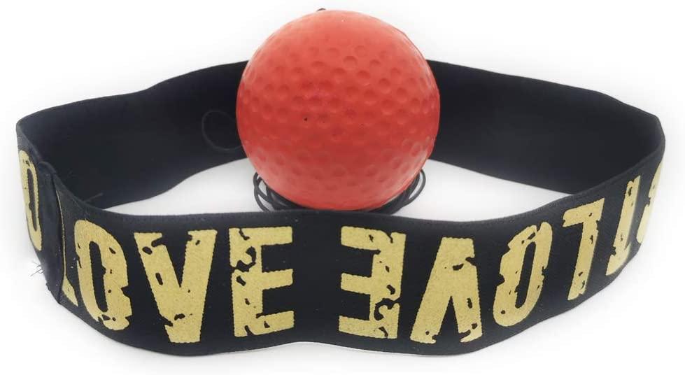 n-a Boxing Reflex Ball,Softer Than Tennis Balls Skills Training,Reflexes and Hand Eye Training Ball
