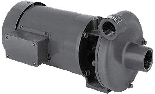MP Pumps 25938 Series 80 End Suction Centrifugal Pump, Bronze, PumPak, C Frame Motor, Right Hand Rotation, 5/8