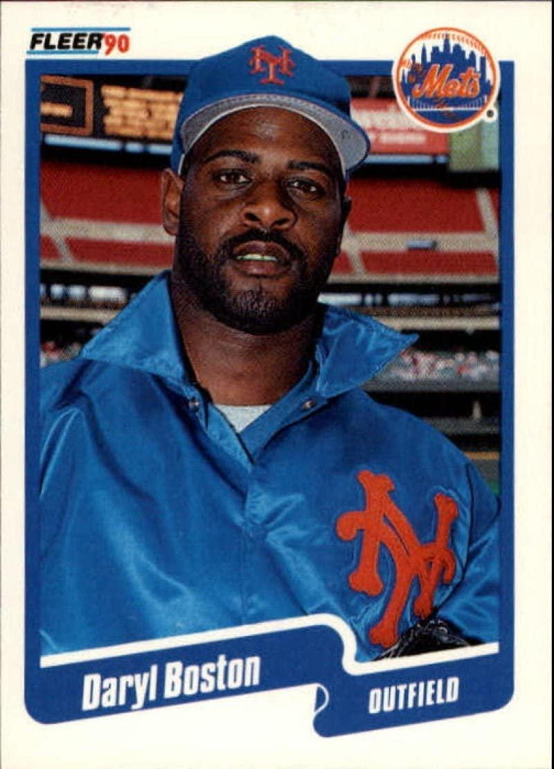 1990 Fleer Update #U-33 Daryl Boston NM-MT Mets