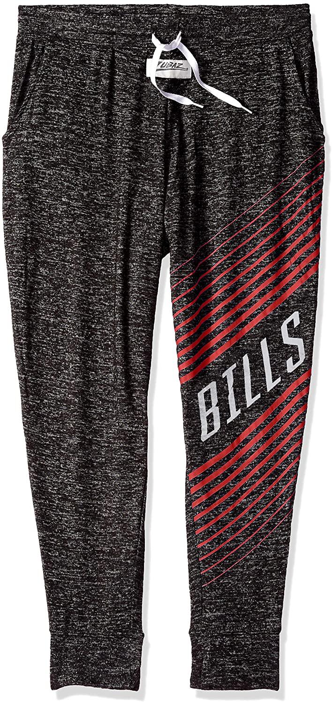 Zubaz NFL Buffalo Bills Female Joggers, X Large, Gray