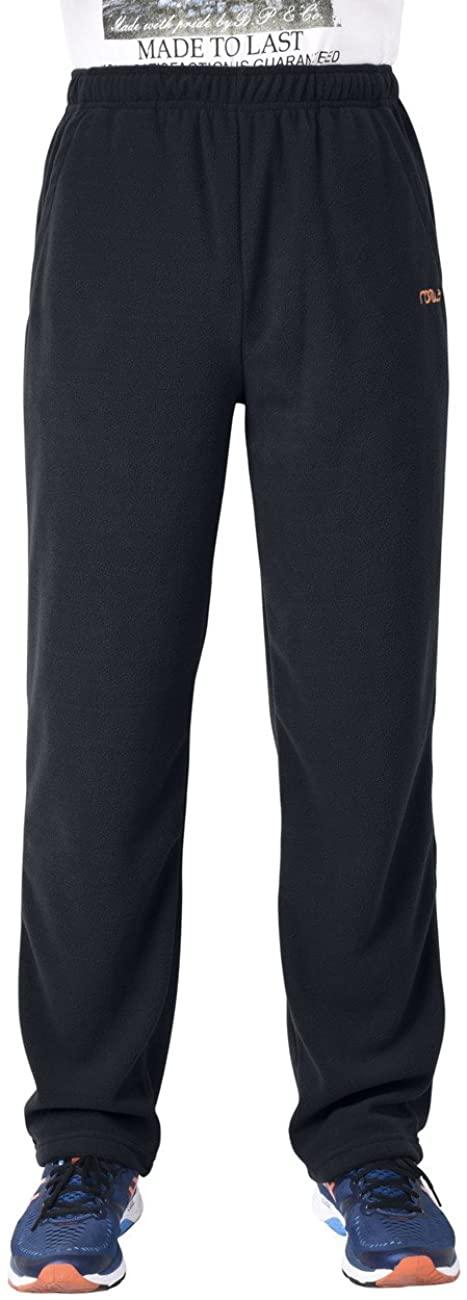 Nonwe Men's Fleece Outdoor Hiking Snow Pants
