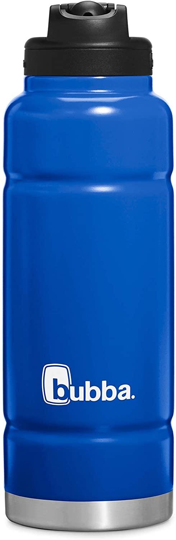 Bubba Brands Trailblazer Water Bottle, 40 Ounce, Very Berry Blue