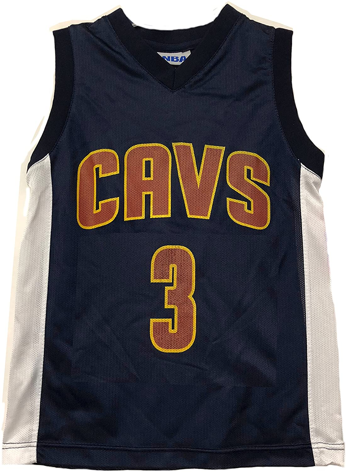 Outerstuff NBA Boys Youth 8-20 Player Name & Number Mesh Player Jersey (Youth Small 8, Cleveland Cavaliers Isaiah Thomas Navy)