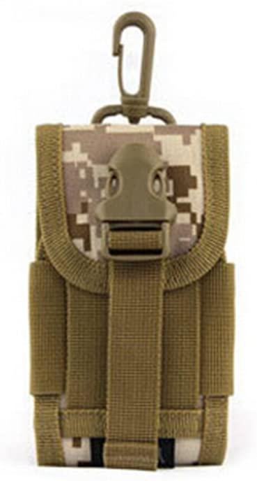 Defoe 5 Men's MOLLE PALS Cell Phone Coyote Brown Mini Buckle Wargame Utility Survival Pouch Purse Bag