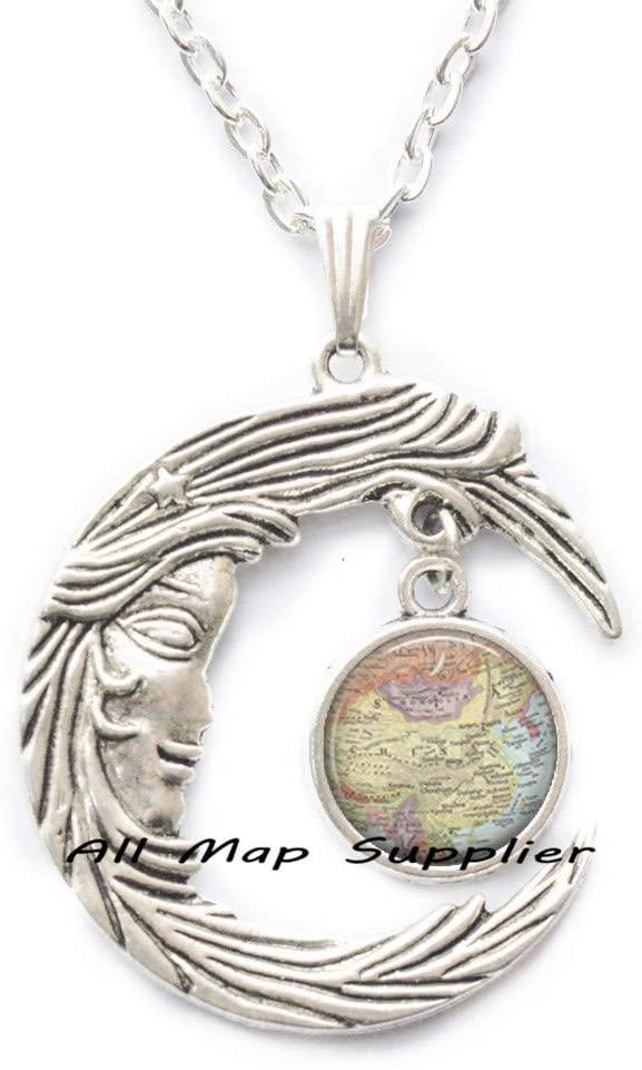 AllMapsupplier Fashion Necklace,China map Necklace,China map Pendant,Adoption Jewelry,Adoption Necklace,Adoption Pendant,A0114