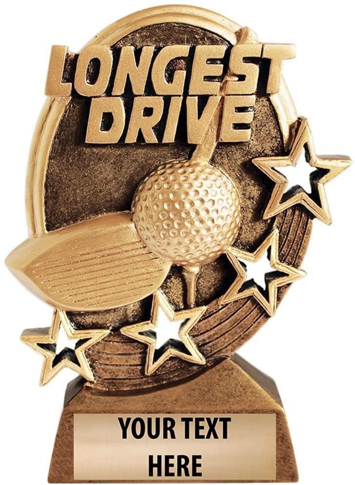 Crown Awards Longest Drive Golf Trophy Prime