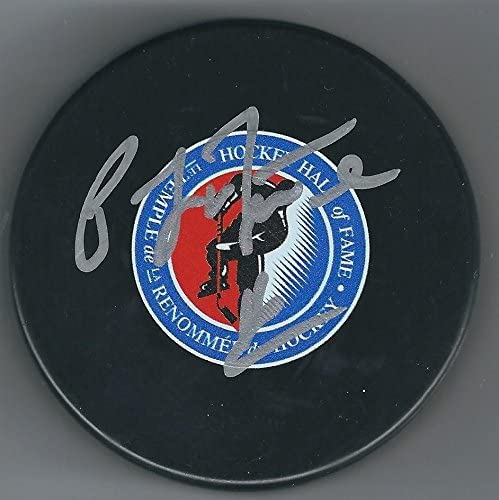 Pat LaFontaine Autographed Puck - Hall of Fame - Autographed NHL Pucks