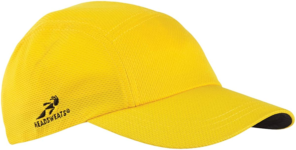 Headsweats Team 365 Performance Race Hat, Sport ATH Gold, One Size