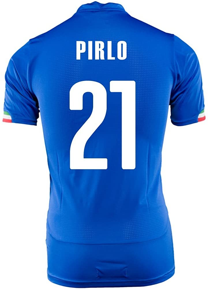 PUMA Pirlo #21 Italy Home Jersey World Cup 2014 (Youth)