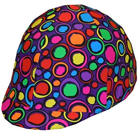 Equestrian Riding Helmet Cover - The Blob