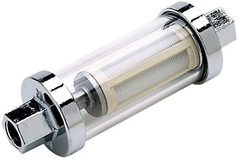 attwood 11820-7 Universal Clear Body in-Line Outboard Fuel Filter