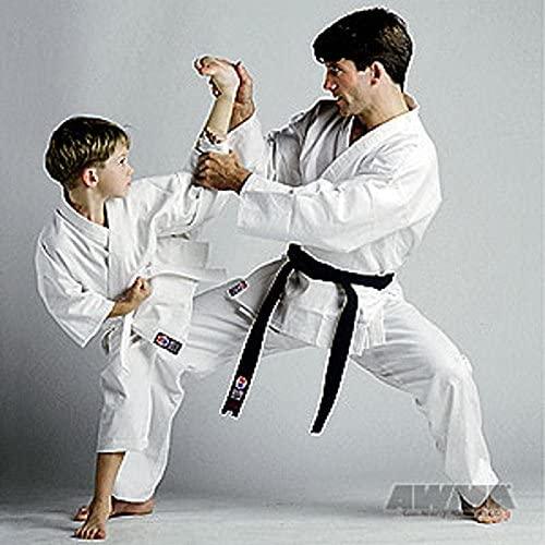 Martial Arts - ProForce 6oz Lightweight Student Karate Uniform White Size 00