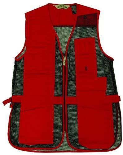 Bob-Allen 30267 240M Shtng Vest LH XS, Red