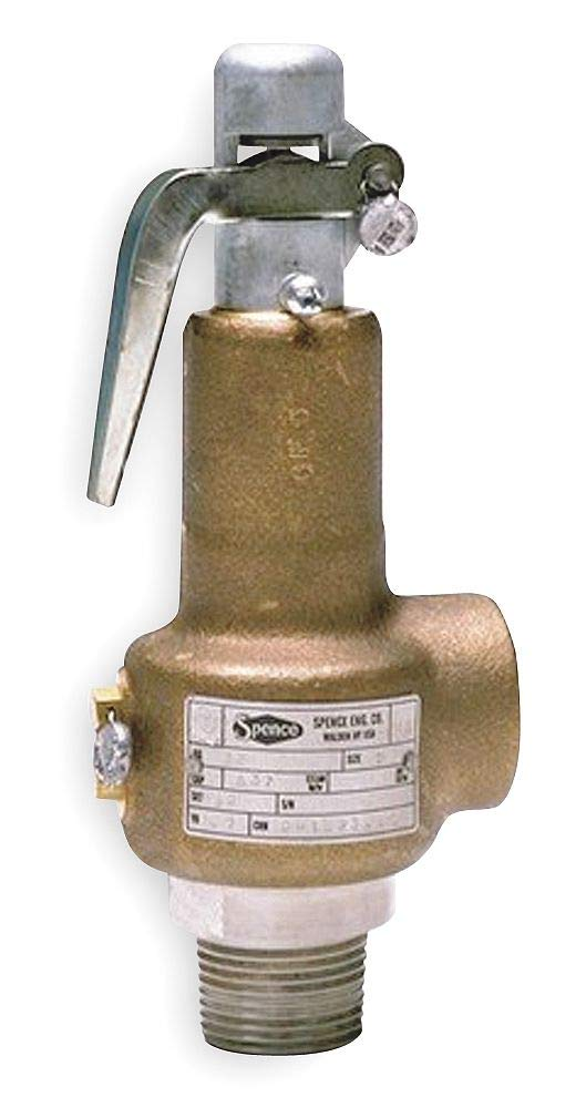 Spence Engineering - 041AEDA-050 - Bronze Safety Relief Valve, FNPT Inlet Type, MNPT Outlet Type