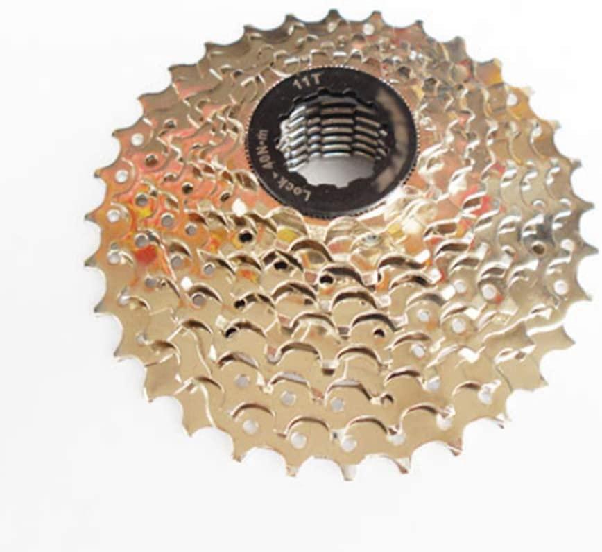 WSWJQY Bicycle Gear Wheel Bicycle Rear Derailleur Pulley Roller Wheel 9-Speed Carptoe Mountain Bike 27 Speed Gear Small Fly-ka Sprocket Sprocket 9-Speed Chain Plate Accessories
