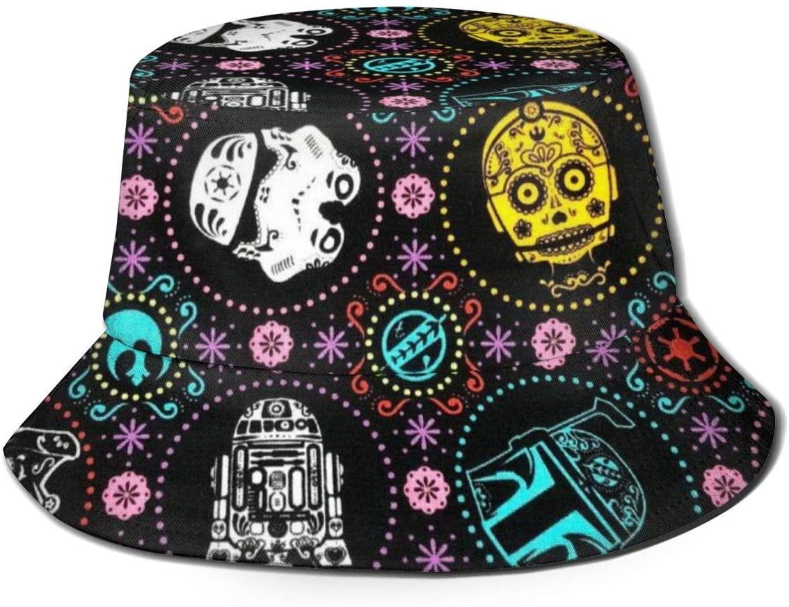 DXTDCMMe Star Wars Unisex Novelty Bucket Hat Fisherman Cap Sun Protection Hat