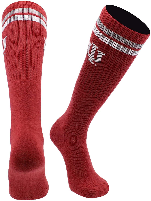 Indiana Hoosiers Socks Throwback Tube