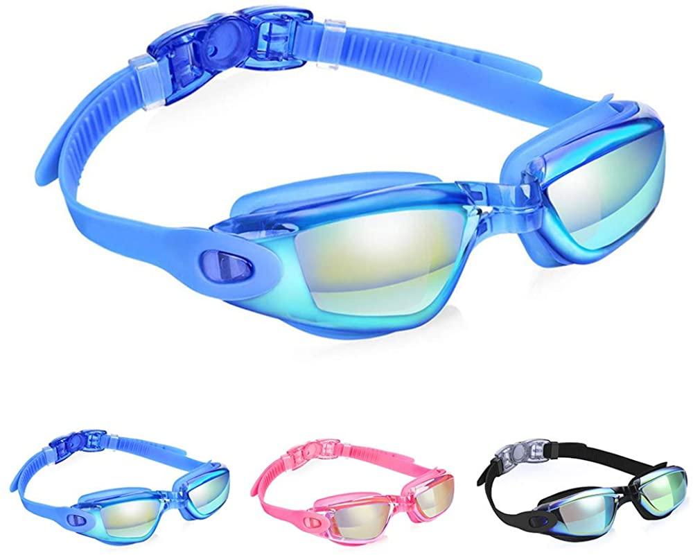 SLFC Swimming Goggles No Leaking Anti Fog UV Protection Swim Goggles