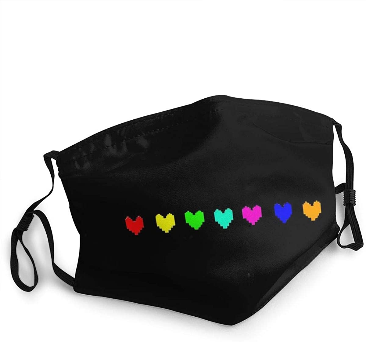 Galucky Rainbow Six Safety Washable and Reusable Mask for Protection