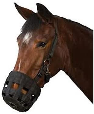 Roma Grazing Muzzle Black Pony