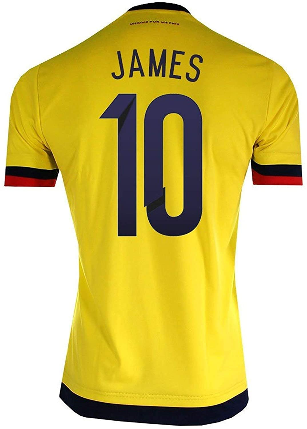 adidas James #10 Colombia Home Soccer Jersey 2015