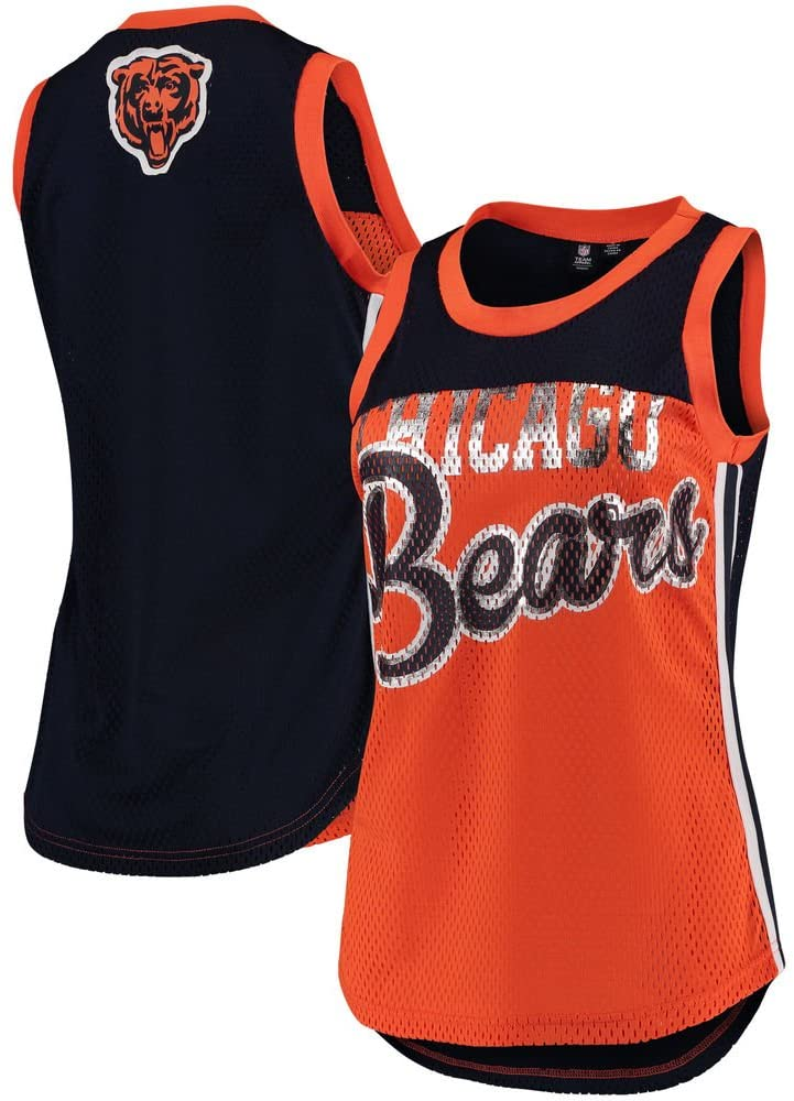 G-III Sports Chicago Bears Womens Championship Tank Top