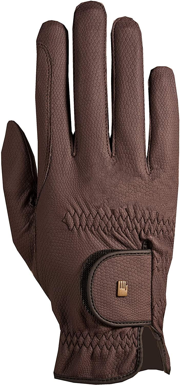 Roeckl Roeck-Grip Unisex Gloves 8.5 Mocha
